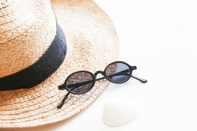 紫外線の防止とサングラス